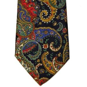 Vintage Liberty of London Italian Silk Tie Men's